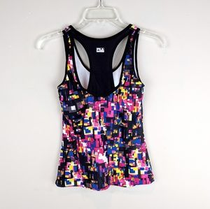 Fila | Rainbow Grid Workout Tank